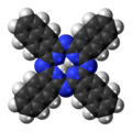 Naphthalocyanine molecule spacefill.png