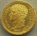 Napoli, 40 lire di gioacchino murat, 1813.JPG