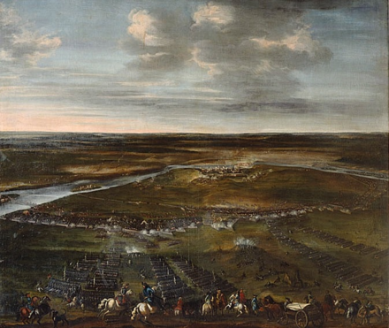 The Great Northern War is the initial discourse of how the Russian Empire began. Narva 1700.png