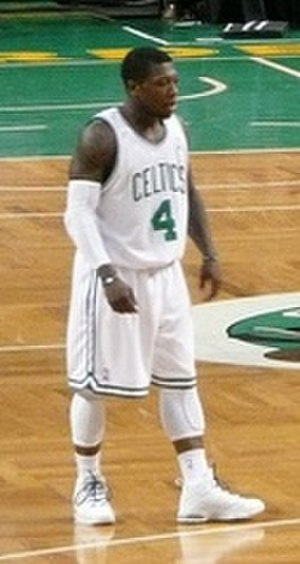 Nate Robinson - Robinson played parts of two seasons (February 2010 to February 2011) with the Boston Celtics.