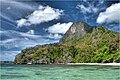 Natnat beach on Cadlao Island - panoramio.jpg
