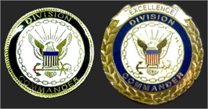 Navy Recruit Division Command Excellence Badge