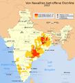 Naxaliten in Indien 2013.png