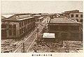 Nearly finished construction in Matsuyama Railway Workshop 1933-05.jpg