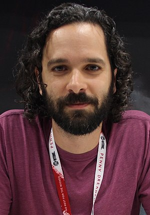Neil Druckmann - Druckmann at the 2015 Comic-Con International