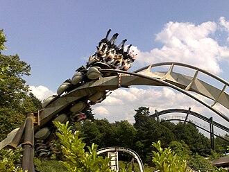 Nemesis (roller coaster) - Image: Nemesis (Alton Towers) 01
