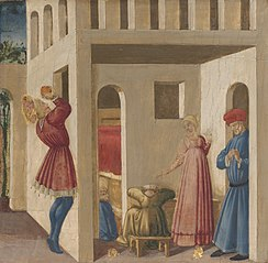 A Scene from the Legend of Saint Nicholas ofBari
