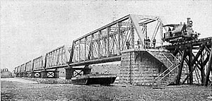 Neuquén-Cipolletti bridges - The finished bridge, 1902