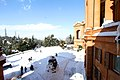 Neve sul Santuario della Beata Vergine di San Luca sul Colle della Guardia - panoramio (6).jpg