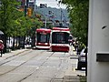 New Flexity LR vehicles approach Spadina and College, 2016 07 21 (1).JPG - panoramio.jpg