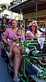 New Orleans Gay Easter Parade in the French Quarter 1 April 2018 Three Generations 2.jpg