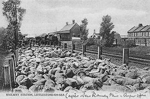 New Romney and Littlestone-on-Sea railway station