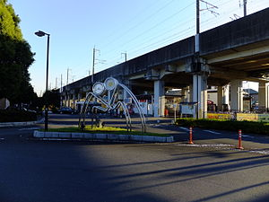 Ina-Chūō Station - Image: New Shuttle Ina Chuo Station 20151104
