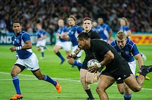 Julian Savea - Image: New Zealand vs Namibia 2015 RWC (5)