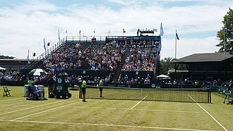 Hall of Fame Tennis Championships - Center court in 2015