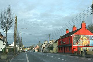 Newtownforbes Village in Leinster, Ireland