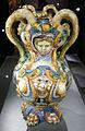 Ngv, maiolica di urbino, bottega di fontana, vaso di dafne e apollo, di salmace e ermafrodito, 1565 circa 02.JPG