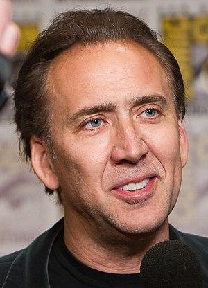 Actor Nicolas Cage at the 2011 San Diego Comic...