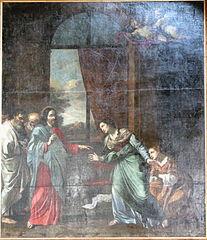 l'Arrivée du Christ à Bethanie