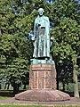 Nijmegen Rijksmonument 523056 Standbeeld St. Petrus Canisius Hunnerpark.JPG