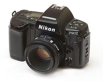 Nikon F90 - Image: Nikon F90x