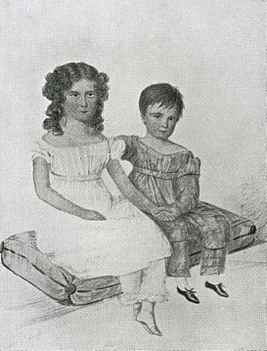 Jerningham Wakefield - Nina and Jerningham Wakefield in 1822