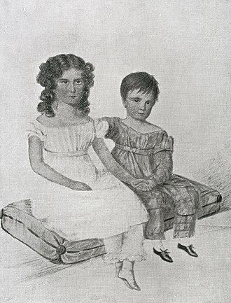 Jerningham Wakefield - Nina and Jerningham Wakefield in 1822