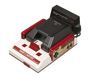 Family Computer Network System - Image: Nintendo Famicom Modem Network System Attached