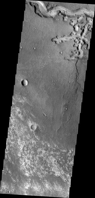 Vallis (planetary geology) - Image: Nirgal Vallis