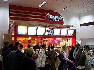 Nirula's - Nirula's express outlet at Delhi Airport.