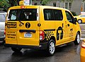 "Nissan NV200 ""Taxi of Tomorrow"" test vehicle, rear.JPG"