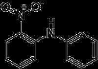 Strukturformel von 2-Nitrodiphenylamine