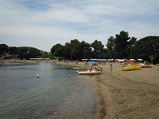 Platja des Niu Blau Beach in Ibiza, Spain