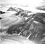 Norris and Taku Glaciers, valley glacier with trimline and firn line in the foreground, and tidewater glacier in the background (GLACIERS 6245).jpg