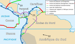 Image illustrative de l'article Plaque des Andes du Nord