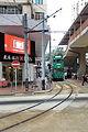 North Point terminus of Hong Kong Tramway at Tong Shui Road (Hong Kong).jpg