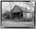 North front and west side - William Webb Farm, Shed, State Highway 3-U.S. highway 19, Sumter, Sumter County, GA HABS GA-20-C-1.tif