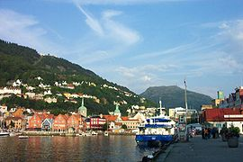 Norway Bergen port floyen.jpg