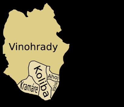 Ako do Bratislava-Vinohrady hromadnou dopravou - O mieste