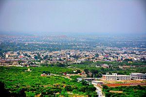 Nowshera, Khyber Pakhtunkhwa - Image: Nowshera City