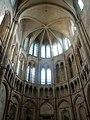 Noyon (60), cathédrale Notre-Dame, croisillon nord, abside, parties hautes, vue vers le nord.jpg