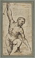 Nude Male Figure with Upraised Right Arm. MET DP811375.jpg