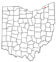 Location of Kirtland Hills, Ohio