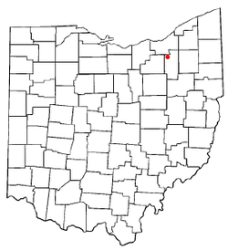 Location of Richfield, Ohio