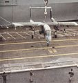 OV-10A of VMO-1 is loaded aboard USS America (CV-66) in 1990.jpg