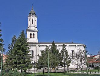 Obrenovac - Image: Obrenovac orthodox church