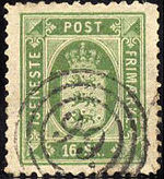 OfficialStampDenmark1871Michel3.jpg