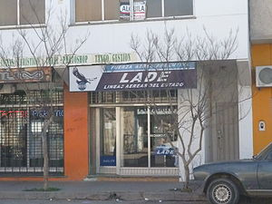 LADE - Branch office in Trelew.