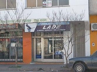 LADE - Branch office in Trelew.