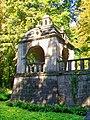 Ognon (60), parc d'Ognon, gloriette ouest 01.jpg